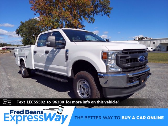 2020 Ford F-350 Crew Cab 4x4, Service Body #MFU0632 - photo 1