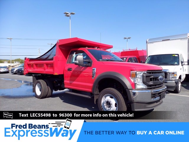 2020 Ford F-550 Regular Cab DRW 4x4, Rugby Dump Body #MFU0674 - photo 1