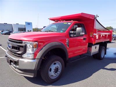 2020 Ford F-550 Regular Cab DRW 4x4, Rugby Eliminator LP Steel Dump Body #MFU0674 - photo 4