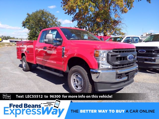 2020 Ford F-350 Super Cab 4x4, Service Body #MFU0675 - photo 1
