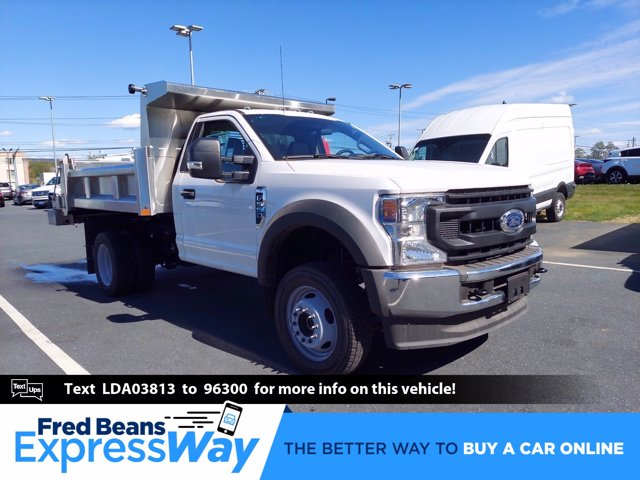 2020 Ford F-550 Regular Cab DRW 4x4, Rugby Dump Body #MFU0736 - photo 1