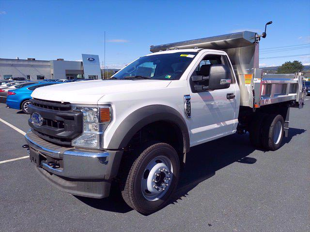 2020 Ford F-550 Regular Cab DRW 4x4, Rugby Eliminator LP Stainless Steel Dump Body #MFU0736 - photo 4