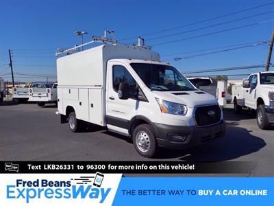 2020 Ford Transit 350 HD DRW RWD, Reading Aluminum CSV Service Utility Van #MFU0758 - photo 1