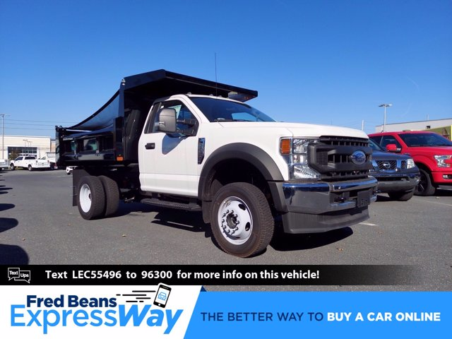2020 Ford F-550 Regular Cab DRW 4x4, Rugby Dump Body #MFU0769 - photo 1