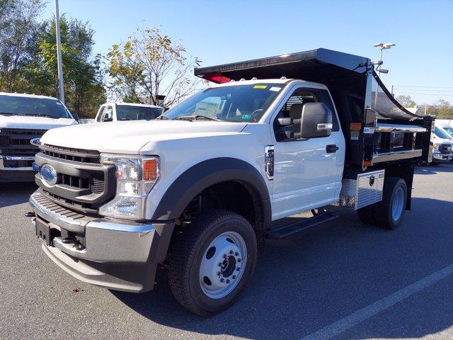 2020 Ford F-550 Regular Cab DRW 4x4, Rugby Dump Body #MFU0769 - photo 3