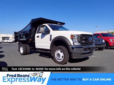 2020 Ford F-550 Regular Cab DRW 4x4, Rugby Dump Body #MFU0769 - photo 1