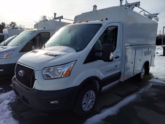 2020 Ford Transit 350 4x2, Reading Aluminum CSV Service Utility Van #MFU0814 - photo 3