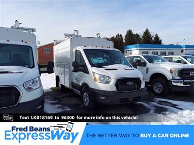2020 Ford Transit 350 4x2, Reading Aluminum CSV Service Utility Van #MFU0814 - photo 1