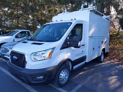 2020 Ford Transit 350 HD DRW 4x2, Reading Aluminum CSV Service Utility Van #MFU0861 - photo 3