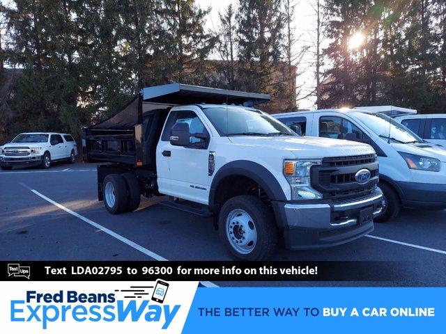 2020 Ford F-550 Regular Cab DRW 4x4, Rugby Eliminator LP Steel Dump Body #MFU0867 - photo 1