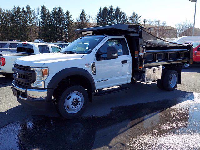 2020 Ford F-550 Regular Cab DRW 4x4, Rugby Eliminator LP Steel Dump Body #MFU0902 - photo 4