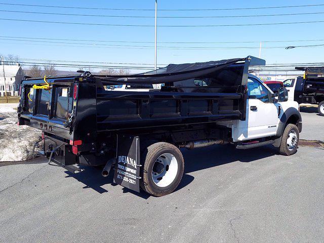 2020 Ford F-550 Regular Cab DRW 4x4, Rugby Dump Body #MFU0902 - photo 1