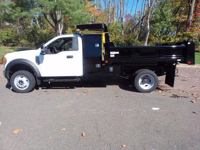 2020 Ford F-550 Regular Cab DRW 4x4, Rugby Dump Body #MFU0947 - photo 8