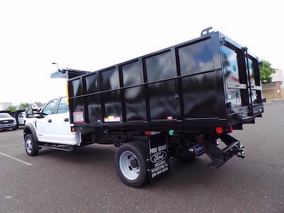 2020 Ford F-450 Crew Cab DRW 4x4, Landscape Dump #MFU0967 - photo 4