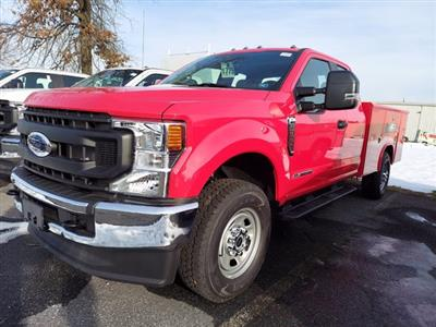 2021 Ford F-350 Super Cab 4x4, Reading Classic II Aluminum  Service Body #MFU1050 - photo 3