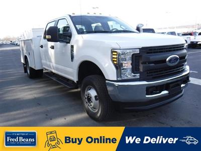 2019 F-350 Crew Cab DRW 4x4, Reading Aluminum CSV Service Utility Van #MFU91008 - photo 1