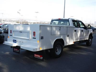 2019 F-350 Crew Cab DRW 4x4, Reading Aluminum CSV Service Utility Van #MFU91008 - photo 2