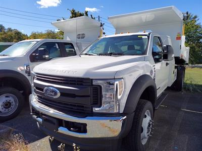 2019 Ford F-550 Regular Cab DRW 4x4, Rugby Eliminator LP Steel Dump Body #MFU91033 - photo 4