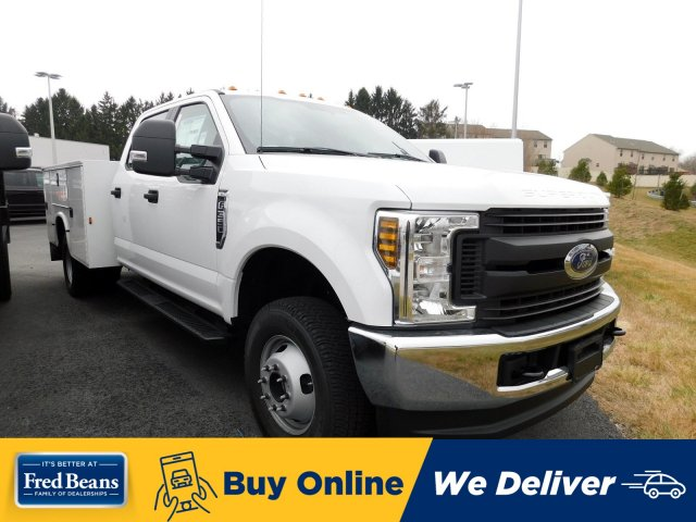 2019 F-350 Crew Cab DRW 4x4, Knapheide Service Body #MFU91035 - photo 1