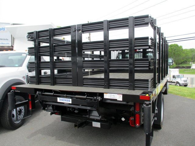 2019 Ford F-550 Regular Cab DRW 4x4, Knapheide Value-Master X Stake Bed #MFU91039 - photo 2