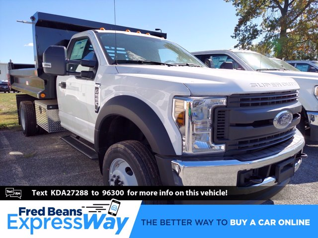 2019 Ford F-550 Regular Cab DRW 4x4, Reading Marauder SL Dump Body #MFU91043 - photo 1
