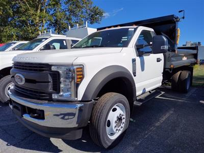 2019 Ford F-550 Regular Cab DRW 4x4, Reading Marauder SL Dump Body #MFU91043 - photo 3
