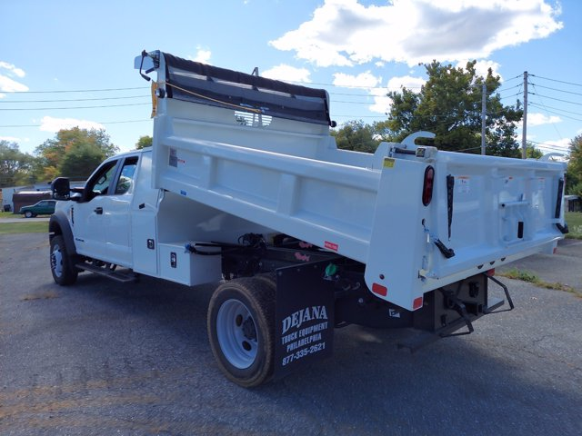 2019 Ford F-550 Super Cab DRW 4x4, Rugby Eliminator LP Steel Dump Body #MFU91044 - photo 4