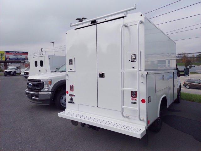 2019 Ford Transit 350 4x2, Reading Aluminum CSV Service Utility Van #MFU91058 - photo 3