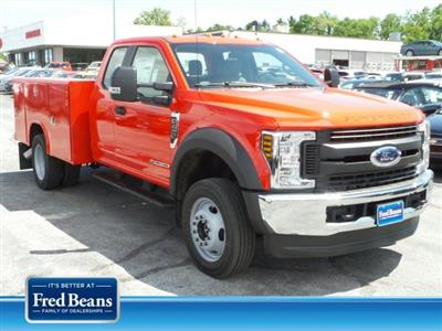 2019 F-450 Super Cab DRW 4x4,  Reading Classic II Steel Service Body #MFU9489 - photo 1