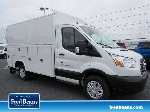 2019 Transit 350 4x2,  Reading Aluminum CSV Service Utility Van #MFU9512 - photo 1