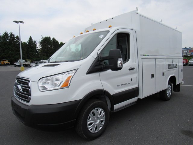 2019 Transit 350 4x2,  Reading Aluminum CSV Service Utility Van #MFU9512 - photo 3