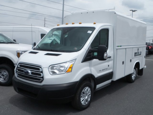 2019 Transit 350 4x2,  Reading Aluminum CSV Service Utility Van #MFU9540 - photo 4