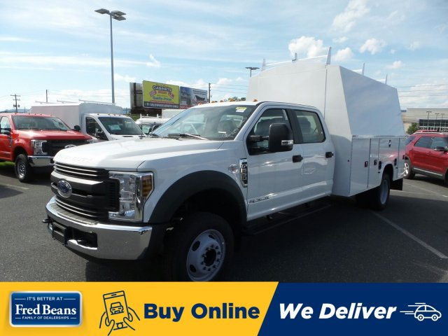 2019 F-550 Crew Cab DRW 4x2, Knapheide Service Body #MFU9608 - photo 1