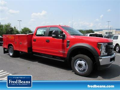 2019 F-450 Crew Cab DRW 4x4,  Reading Classic II Steel Service Body #MFU9609 - photo 1