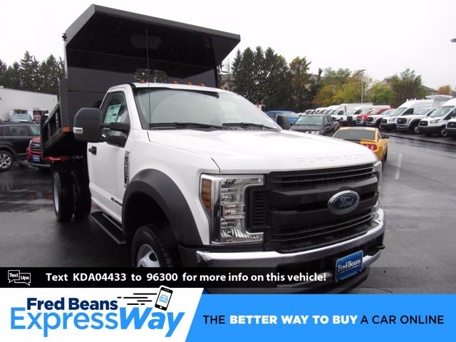 2019 F-550 Regular Cab DRW 4x4, Rugby Dump Body #MFU9663 - photo 1
