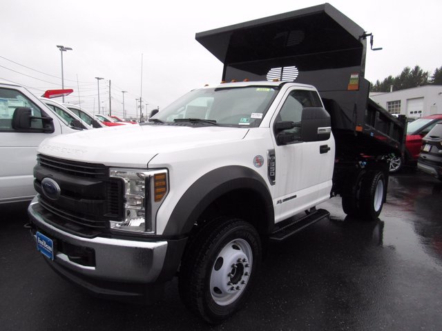 2019 F-550 Regular Cab DRW 4x4,  Rugby Eliminator LP Steel Dump Body #MFU9663 - photo 4