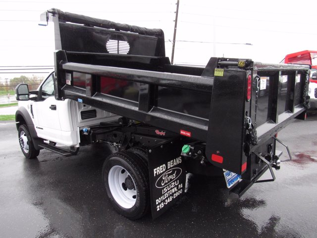 2019 F-550 Regular Cab DRW 4x4, Rugby Eliminator LP Steel Dump Body #MFU9663 - photo 6
