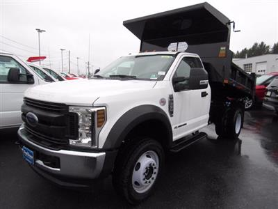 2019 Ford F-550 Regular Cab DRW 4x4, Rugby Eliminator LP Steel Dump Body #MFU9663 - photo 5