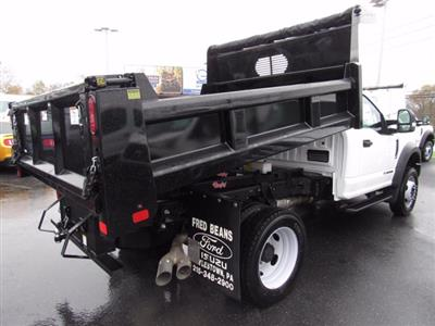 2019 F-550 Regular Cab DRW 4x4, Rugby Eliminator LP Steel Dump Body #MFU9663 - photo 2