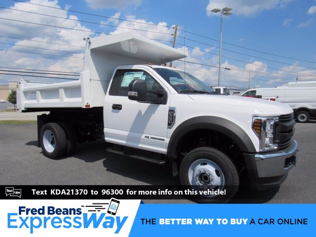 2019 F-550 Regular Cab DRW 4x4,  Rugby Eliminator LP Steel Dump Body #MFU9682 - photo 1