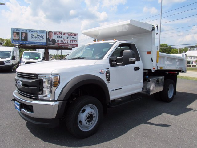2019 F-550 Regular Cab DRW 4x4,  Rugby Eliminator LP Steel Dump Body #MFU9682 - photo 3