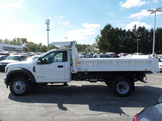 2019 F-550 Regular Cab DRW 4x4, Rugby Eliminator LP Steel Dump Body #MFU9695 - photo 5