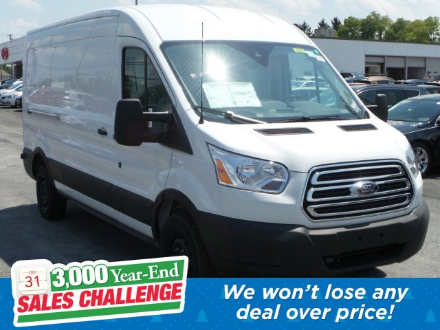 2019 Transit 250 Med Roof 4x2, Ranger Design Base Shelving Upfitted Cargo Van #MFU9696 - photo 1