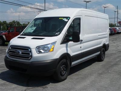 2019 Transit 250 Med Roof 4x2, Ranger Design Base Shelving Upfitted Cargo Van #MFU9696 - photo 6