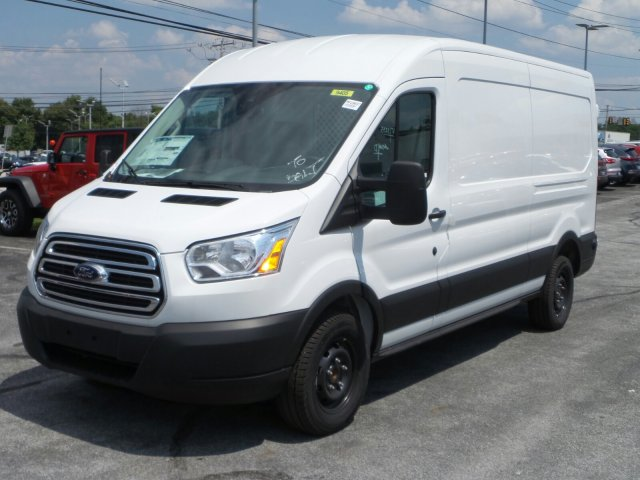 2019 Transit 250 Med Roof 4x2, Ranger Design Base Shelving Upfitted Cargo Van #MFU9697 - photo 6