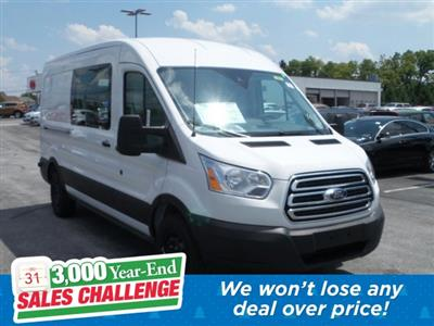 2019 Transit 250 Med Roof 4x2, Ranger Design Base Shelving Upfitted Cargo Van #MFU9697 - photo 1