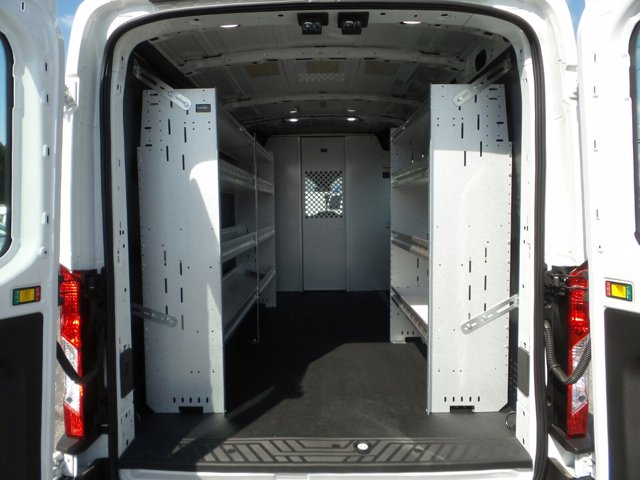 2019 Transit 250 Med Roof 4x2, Ranger Design Base Shelving Upfitted Cargo Van #MFU9699 - photo 26