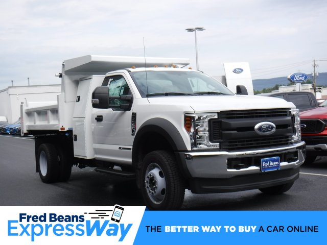 2019 F-550 Regular Cab DRW 4x4, Rugby Dump Body #MFU9795 - photo 1