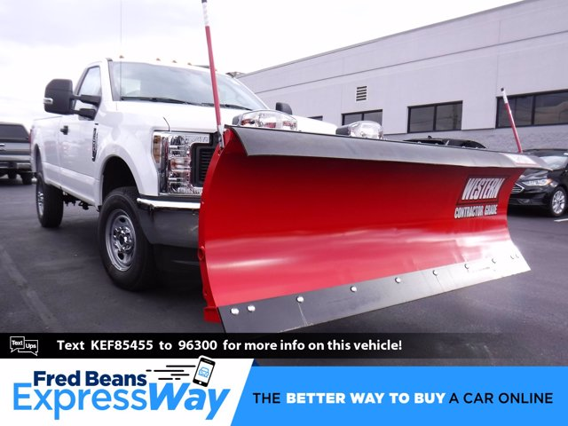2019 F-250 Regular Cab 4x4, Western Snowplow Pickup #MFU9799 - photo 1