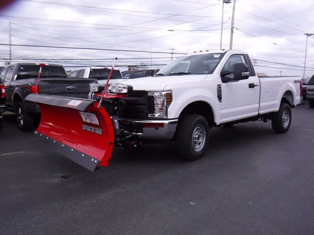 2019 Ford F-250 Regular Cab 4x4, Western Snowplow Pickup #MFU9799 - photo 6